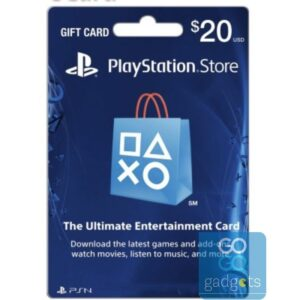 Tarjeta de PlayStation 20$