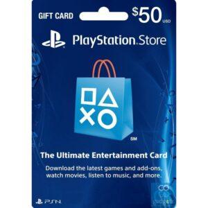Tarjeta de PlayStation 50$