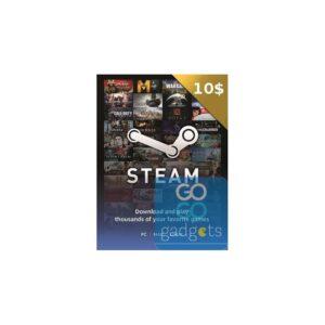 Tarjeta Steam de $10